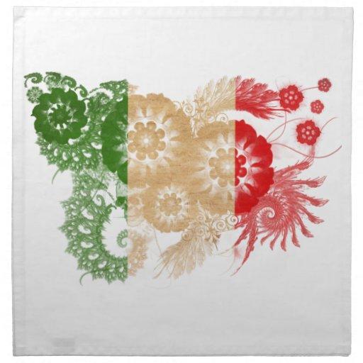Italy Flag Napkins