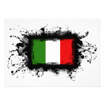 Italy Flag Personalized Invitation