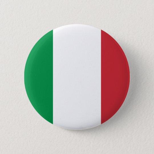 Italy Flag Pinback Button