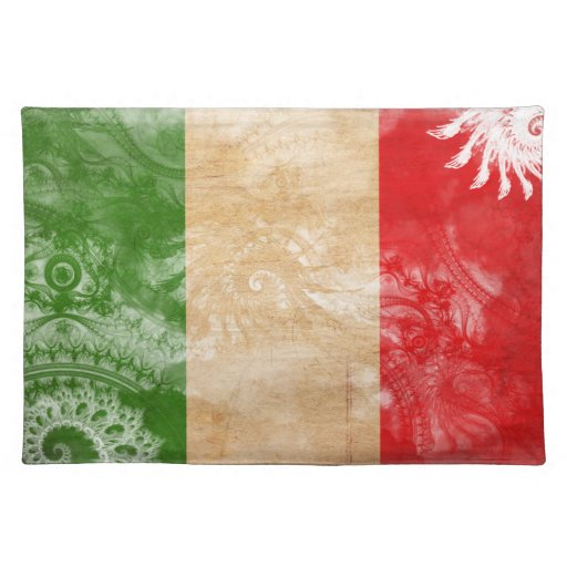 Italy Flag Place Mats