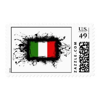 Italy Flag Postage
