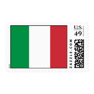 Italy Flag Postage