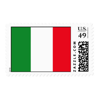Italy Flag Postage Stamp