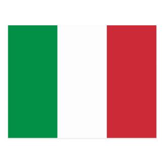 Italy Flag Postcard