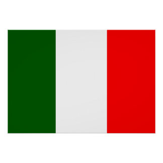 Italy Flag Poster