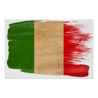 Italy Flag Posters