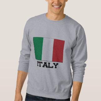 Italy Flag Pullover Sweatshirt