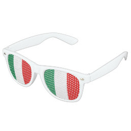 Italy Flag Retro Sunglasses