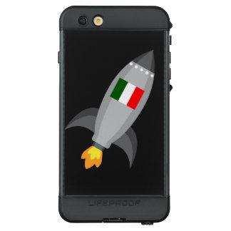 Italy Flag Rocket LifeProof NÜÜD iPhone 6s Plus Case