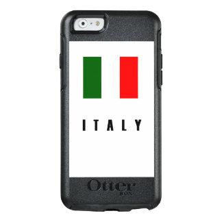Italy Flag Simple Dark OtterBox iPhone 6/6s Case