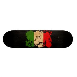 Italy Flag Skateboard Deck
