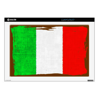 ITALY FLAG DECALS FOR LAPTOPS