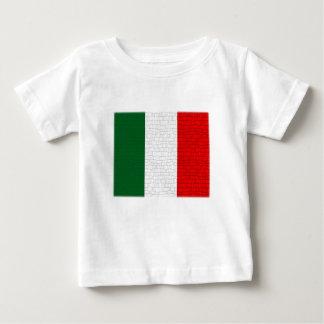 Italy Flag Snake Skin Baby T-Shirt