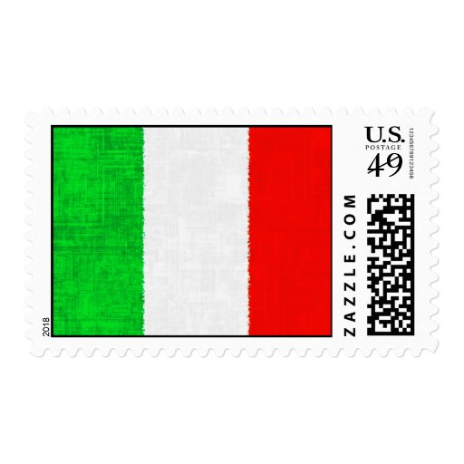 ITALY FLAG Stamp