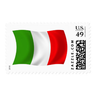 Italy Flag Stamps