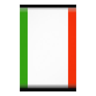 Italy Flag Personalized Stationery
