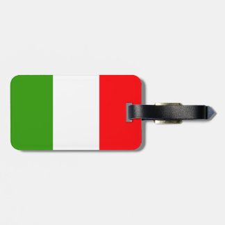 Italy flag tags for luggage