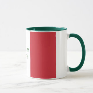 Italy Flag The MUSEUM Zazzle I Love MY Country Mug