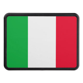 Italy Flag Tow Hitch Cover