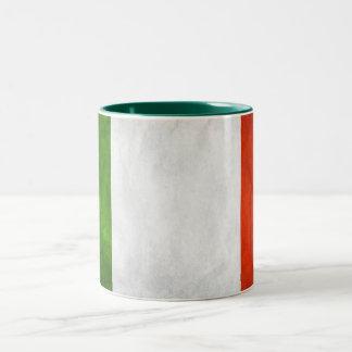 ITALY FLAG Two-Tone COFFEE MUG