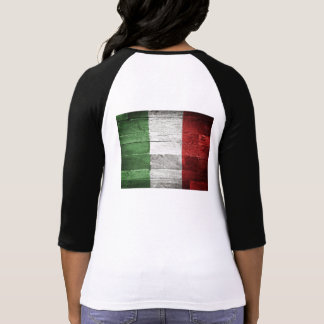 Italy Flag Women T-Shirt Cotton Shirt