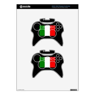 Italy Flag Xbox 360 Controller Decal