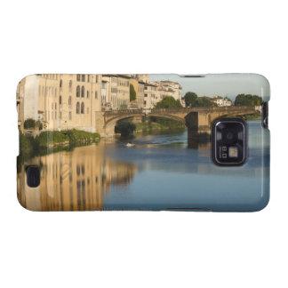 Italy, Florence, Bridge over River Arno Samsung Galaxy S2 Case