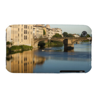 Italy, Florence, Bridge over River Arno iPhone 3 Case-Mate Case