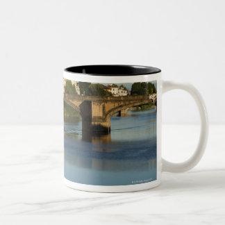 Italy, Florence, Bridge over River Arno Mug