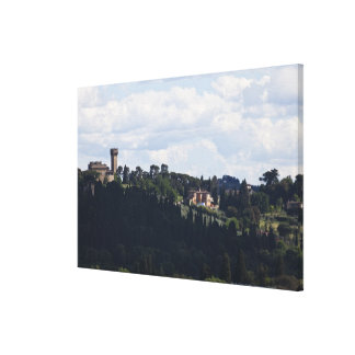 Italy, Florence, Castle on hilltop 2 Canvas Print