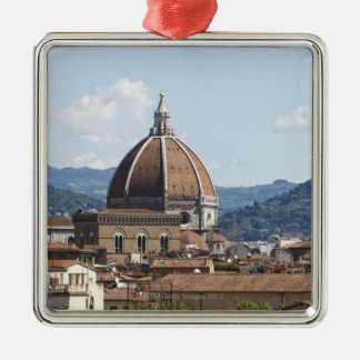 Italy, Florence, Cityscape with Duomo Metal Ornament