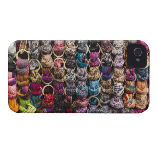 Italy, Florence, Colourful scarves outside shop Case-Mate iPhone 4 Cases