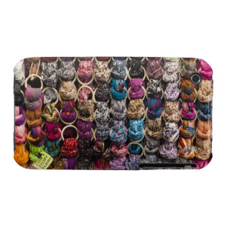 Italy, Florence, Colourful scarves outside shop iPhone 3 Case-Mate Cases