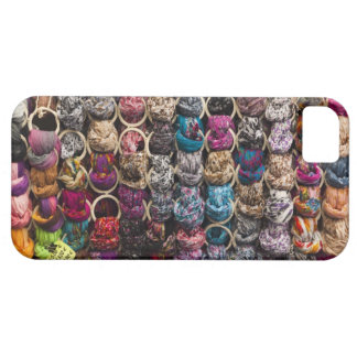 Italy, Florence, Colourful scarves outside shop iPhone SE/5/5s Case