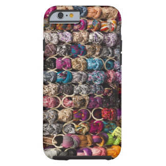 Italy, Florence, Colourful scarves outside shop Tough iPhone 6 Case