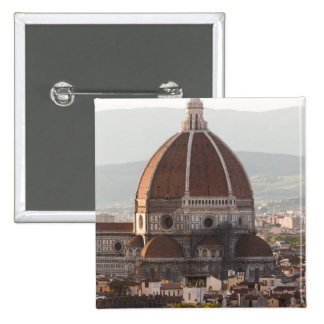 Italy, Florence, Dome of Duomo cathedral Pinback Button