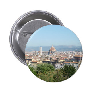 Italy Florence Duomo Michelangelo Square (New) 2 Inch Round Button