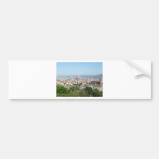 Italy Florence Duomo Michelangelo Square (New) Car Bumper Sticker
