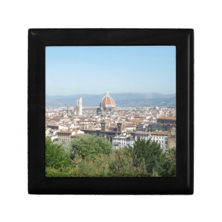 Italy Florence Duomo Michelangelo Square (New) Keepsake Boxes