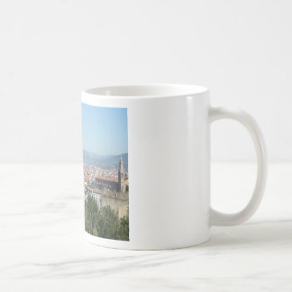 Italy Florence Duomo Michelangelo Square (New) Classic White Coffee Mug