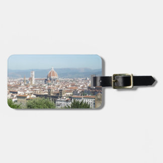 Italy Florence Duomo Michelangelo Square (New) Travel Bag Tags