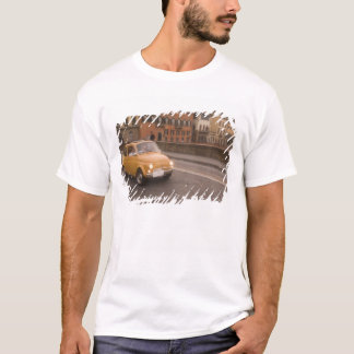 Italy, Florence. Fiat 800 Rally crosses Arno T-Shirt