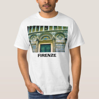 Italy, Florence, Firenze, Entrance to Bapistry T-Shirt