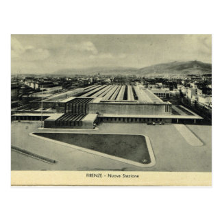 Italy, Florence, Firenze,Train station Postcard