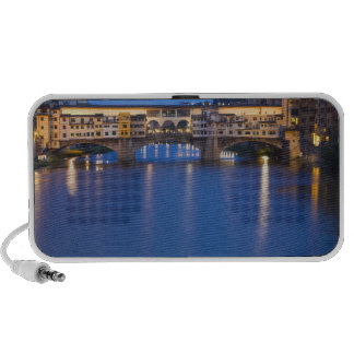 Italy, Florence, Night Reflections in the Portable Speaker