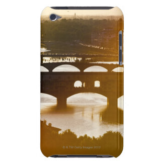 Italy, Florence, Ponte Vecchio and River Arno at Barely There iPod Cover
