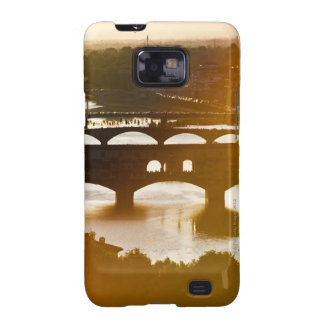 Italy, Florence, Ponte Vecchio and River Arno at Galaxy S2 Cases