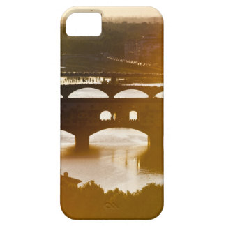 Italy, Florence, Ponte Vecchio and River Arno at iPhone 5 Cases