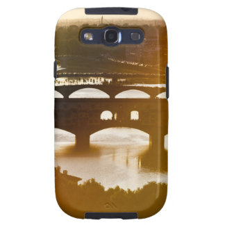 Italy, Florence, Ponte Vecchio and River Arno at Samsung Galaxy S3 Case