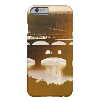 Italy, Florence, Ponte Vecchio and River Arno at Barely There iPhone 6 Case